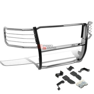 For 07 13 Chevy Silverado 1500 Stainless Steel Front Bumper Brush Grille Guard