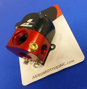 Aeromotive 13204 Fuel Pressure Regulator Bypass 3 15 Psi Carbureted Adjustable