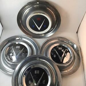 Set 4 Classic Vintage 1953 Buick V8 15 Wheel Hub Caps Hubcaps Wheel Covers