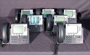 Lot Of 7 Cisco Cp 7940g Telephones