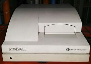 Perseptive Biosystems Cytofluor Ii Fluorescence Multi well Plate Reader