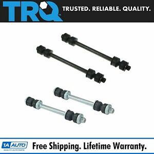 4 Piece Kit Stabilizer Sway Bar End Link Front Rear Lh Rh Set For Ford Mercury