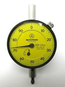 New Old Inventory Mitutoyo Dial Indicator 2230 01