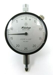 New Old Inventory Mitutoyo Dial Indicator 2507
