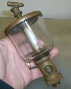 No 4 Wine Glass European Or English Style Oiler Brass Engine Oiler Neat And Rare