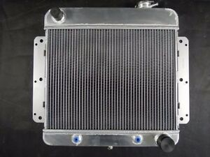 All Aluminum Radiator For 1962 1967 Chevrolet Nova 3 2l automatic Trans