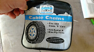 Laciede Laclede Passenger Car Cable Chains 1042 W 1 Pair Tire Chain Adjusters