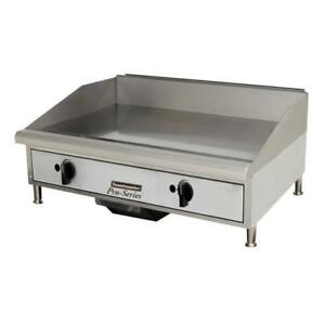 Toastmaster Tmgm24 24 Countertop Gas Griddle Flat Top Grill