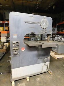 Doall 1 0 Hp Vertical Band Saw V 36 With Power Feed And Accessor