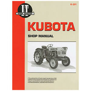 I t Shop Manual For Kubota Tractors B5100 B6100 B7100 L175 L185 L210 L225