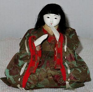 Antique Japanese Seated 4 5 Musician Hina Doll Bh1 Ad4161415 8