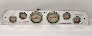 1967 1968 1969 1970 1971 1972 Ford Truck 6 Gauge Set Billet Dash Panel Shark