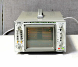 Leader Lbo 5860a Analog Waveform Monitor Oscilloscope