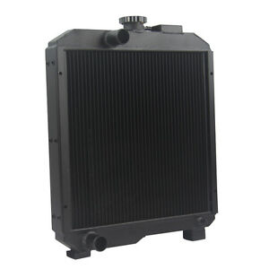 Sba310100630 Aftermarket Radiator For Ford New Holland 1715 Model 2 Row Aluminum