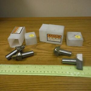 Ching Lung Router Bits 4 lot For Heavy Manufacturing wood Working Equipment
