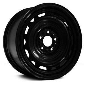 For Ford Fusion 06 11 Replace 16x6 5 14 slot Black Steel Factory Wheel Replica