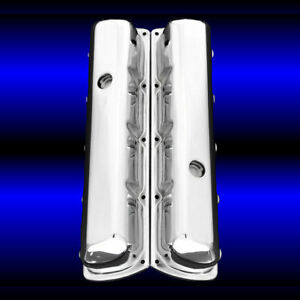 Tall Valve Covers For Oldsmobile 330 350 455 Olds Engines Chrome