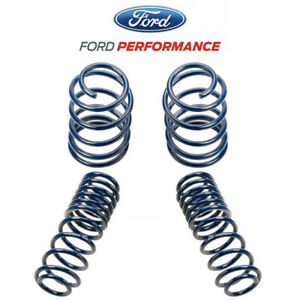 2005 2010 Mustang Gt Ford Racing Front Rear Lowering Coil Springs 1 5 Drop