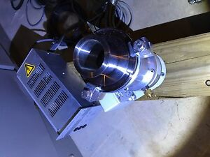 Pfeiffer Balzers High vacuum Turbo Pump Tmh 065 Controller Tcp 015 With Cables