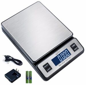 Weighmax W 2809 90 Lb X 0 1 Oz Digital Shipping Postal Scale W ac Adapter
