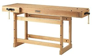 Sjobergs Sjo 33279 Large Beech Woodworkers Cabinetmaking Workbench Scandi Plus