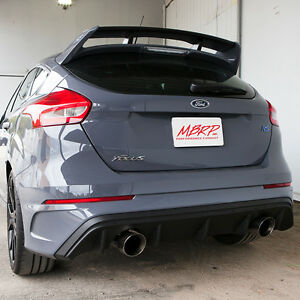 Mbrp 2016 2018 Ford Focus Rs 2 3l Turbo 2 3t 3 Street Catback Exhaust 409 Ss