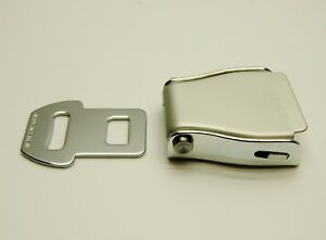 Airplane Seat Belt Buckle 98al 2cl Aluminum Body With Steel Latch New