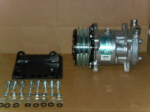 New Ac Compressor And Mount york To Sanden Replace York With Sanden Kit