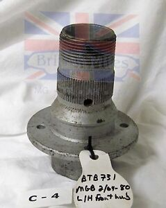 Mgb Wire Wheel Left Front Hub