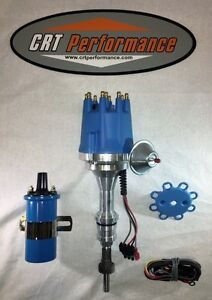 Ford 5 0l 302 Efi To Carb Conversion Small Cap Blue Hei Distributor 45k Coil
