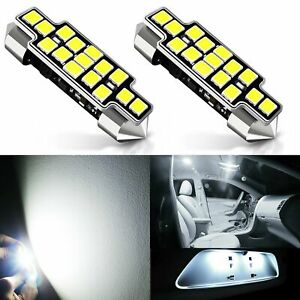 Jdm Astar 33 Smd 42mm White Led License Map Dome Door Lights Bulbs 211 2 578 569