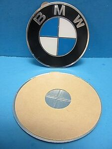 1 Genuine Wheel Center Cap Emblem Bmw Oem 36136758569 70 0mm 2 7 Adhesive Diy