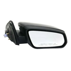 Power Mirror For 2013 2014 Ford Mustang Right Side Manual Fold Paintable