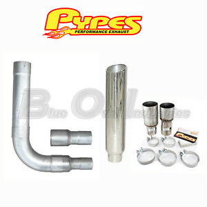 Ford Truck 6 0 Powerstroke Super Duty Diesel 8 Pypes Stack Kit Stainless