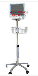 Rolling Stand For Ge Dash 3000 4000 Monitor New small Wheel