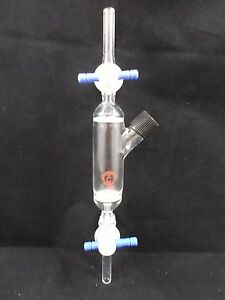 Ace Glass 20ml 15 c Frit 25 50 Peptide Synthesis Vessel Dual Ended Stopcocks