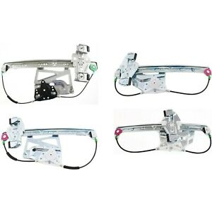 Power Window Regulator For 2003 Cadillac Deville Sedan Set Of 4 Front
