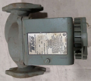 Used Taco 0010 f1 Single Phase Circulating Pump