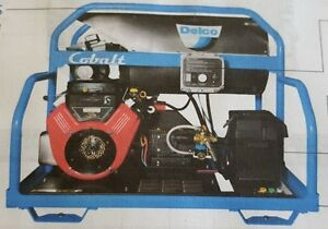 Delco Cobalt Skid Hot Water Pressure Washer 3500psi 5 5gpm