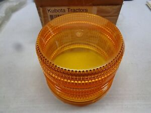 Kubota Tractor Strobe Light Replacement Lens 70000 01172