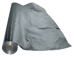 500 Sqft Aluminum Foil Barrier Insulation Sauna Vapor Barrier Waterproof Strong