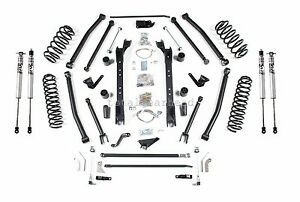 1997 2006 Jeep Tj Wrangler 6 5 Bds Long Arm Lift Kit Fox Shocks 467h