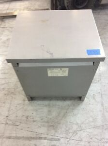Dongan Transformer 63 6025sh ry 25 Kva Primary 600 Sec 208y 120 Volt 3 Phase