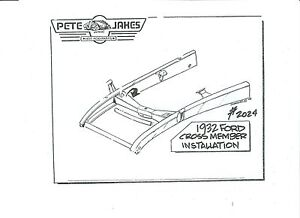 1932 Ford Front Crossmember Super Bell Can Cut Down For Model A S 2024