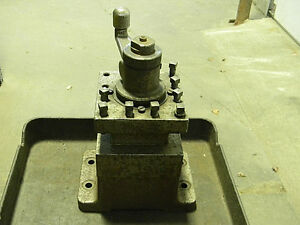 Used 4 Way Turret Index Tool Post 6 X 9 Base