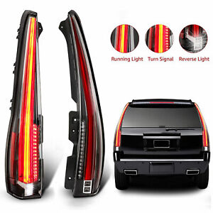 Led Tail Lights For Cadillac Escalade 2007 2014 Rear Lamp 2016 Version Assembly