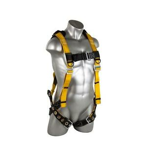 Safety Harness Leg Straps Xl Lanyard Roof Construction Fall Protection Full Body