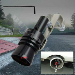 Universal Extra Large Black Turbo Sound Exhaust Whistle Blow Off Valve Simulator
