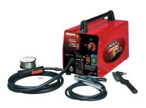 1 New Lincoln Portable Electric Power Feed Welder With Easy Wire Welding