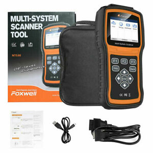 Foxwell Nt530 For Toyota Coaster Multi System Obdii Scanner Error Code Reader